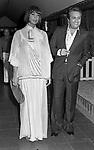 ALBERTO LIONELLO CON LA MOGLIE GABRIELLA VANOTTI<br /> JACJIE O' CLUB ROMA 1975