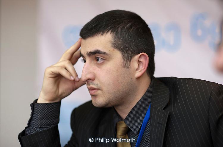 Daviti Darsavelidze, Deputy Chair of the Public Services Trade Union of Georgia, Tbilisi.