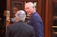 HRH Prince Charles<br /> arrives for the The Prince's Trust Celebrate Success Awards 2017 at the Palladium Theatre, London.<br /> <br /> <br /> ©Ash Knotek  D3241  15/03/2017