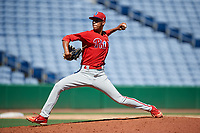 Philadelphia Phillies pitcher Gabriel Cotto (54) delivers a pitch during a Florida Instructional League game against the New York Yankees on October 12, 2018 at Spectrum Field in Clearwater, Florida.  (Mike Janes/Four Seam Images)