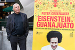 "British director Peter Greenaway present his new film ""Eisenstein en Guanajuato"" at Renoir Princesa Cinema in Madrid, Spain, November 06, 2015. <br /> (ALTERPHOTOS/BorjaB.Hojas)"