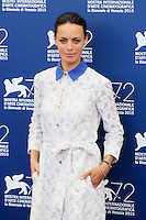 Berenice Bejo attends the photocall for the movie 'The Childhood Of A Leader' during the 72nd Venice Film Festival at the Palazzo Del Cinema in Venice, Italy, September 5. <br /> UPDATE IMAGES PRESS/Stephen Richie