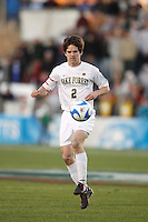 Wake Forest Demon Deacons midfielder Sam Cronin (2). The Wake Forest Demon Deacons defeated the Ohio State Buckeyes 2-1 in the finals of the NCAA College Cup at SAS Stadium in Cary, NC on December 16, 2007.