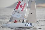 Bruce Millar, Rio 2016 - Para Sailing // Voile adaptée.<br /> Bruce Millar compete in the 1-Person Keelboat (2.4mR) // Bruce Millar participe au quillard pour 1 personne (2,4 mR). 13/09/2016.