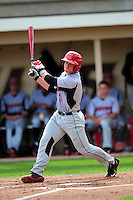 University of Hartford Hawks designated hitter Erik Ostberg (21) during a game versus the Boston College Eagles at Pellagrini Diamond at Shea Field on May 9, 2015 in Chestnut Hill, Massachusetts. (Ken Babbitt/Four Seam Images)