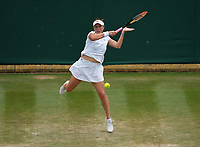 3rd July 2021; Wimbledon, SW London. England; Wimbledon Tennis Championships, day 6;  Anastasia Pavlyuchenkova , Russia