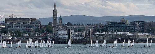 Tuesday DBSC night Laser racing in 2020 Photo: Rob Walker