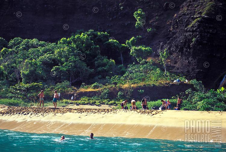 Kalalau Beach. Kauai, Hawaii