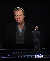 "HOLLYWOOD, CA - DECEMBER 10: Christopher Nolan presents the award for ""Game of the Year"" on ""The Game Awards 2020"" in Hollywood, California on December 10, 2020. (Photo by Frank Micelotta/PictureGroup)"