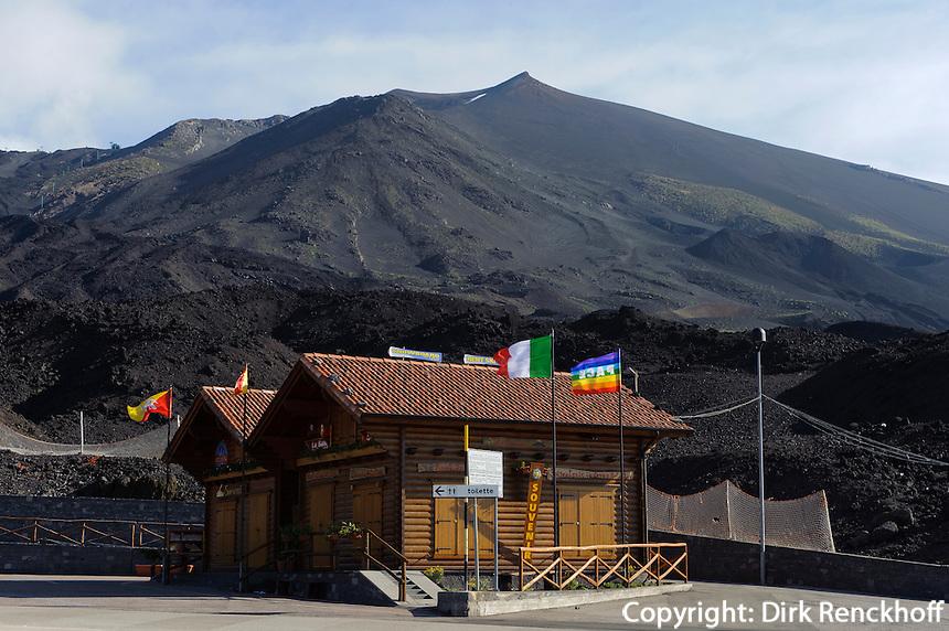 Gipfel des Etna, Sizilien, Italien, UNESCO-Weltnaturerbe