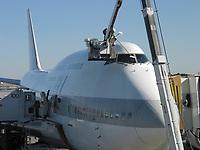 Narita, Japan, 2004 file Photo - Japan Airline 747 at Narita Airport