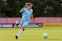 Heather O'Reilly (9) of Sky Blue FC. Sky Blue FC and the Washington Freedom played to a 4-4 tie during a Women's Professional Soccer match at Yurcak Field in Piscataway, NJ, on July 15, 2009.