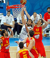 Marco Belinelli of Italy in action during European basketball championship Eurobasket 2013, round 2, group F  basketball game between Italy and Spain in Stozice Arena in Ljubljana, Slovenia, on September 16. 2013. (credit: Pedja Milosavljevic  / thepedja@gmail.com / +381641260959)