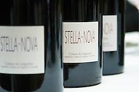 Domaine Stella-Nova. Pezenas region. Languedoc. France. Europe. Bottle.