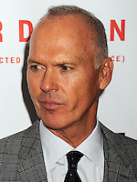 NEW YORK CITY, NY, USA - OCTOBER 11: Michael Keaton arrives at the 52nd New York Film Festival - Closing Night Gala Presentation Of 'Birdman Or The Unexpected Virtue Of Ignorance' held at Alice Tully Hall on October 11, 2014 in New York City, New York, United States. (Photo by Celebrity Monitor)