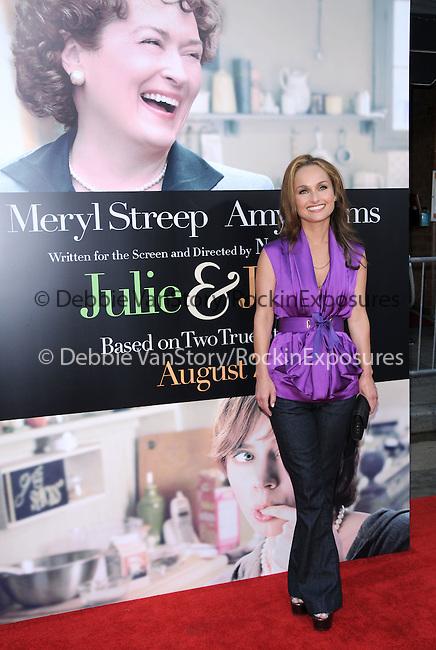 Giada De Laurentiis at The Columbia Pictures' Screening of  Julie & Julia held at The Mann's Village Theatre in Westwood, California on July 27,2009                                                                   Copyright 2009 Debbie VanStory / RockinExposures