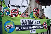 2017/10/20 Politik | Klimaprotest vor Sondierung zu Jamaika-Koalition