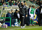 Hibs v St Johnstone....27.11.10  .Derek McInnes reacts as another chance is spurned.Picture by Graeme Hart..Copyright Perthshire Picture Agency.Tel: 01738 623350  Mobile: 07990 594431