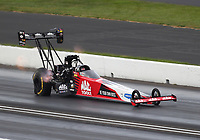 Sep 6, 2020; Clermont, Indiana, United States; NHRA top fuel driver Doug Kalitta during the US Nationals at Lucas Oil Raceway. Mandatory Credit: Mark J. Rebilas-USA TODAY Sports