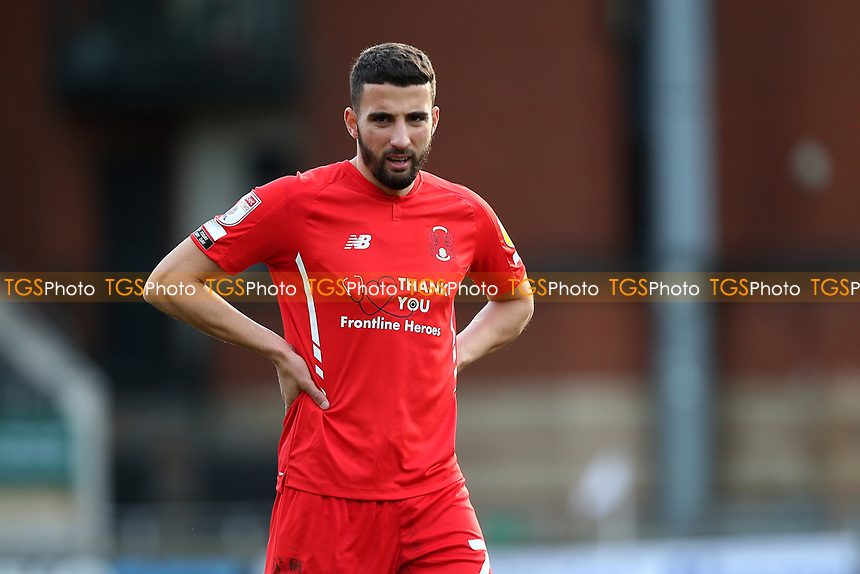 Nick Freeman of Leyton Orient during Leyton Orient vs Port Vale, Sky Bet EFL League 2 Football at The Breyer Group Stadium on 20th February 2021