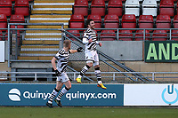 Nicky Cadden celebrates scoring FGR's opening goal during Leyton Orient vs Forest Green Rovers, Sky Bet EFL League 2 Football at The Breyer Group Stadium on 23rd January 2021