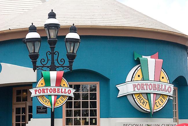 Portobello Restaurant, Disney Marketplace, Orlando, Florida