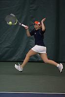 Virginia Cavalier men's and women's Tennis at the University of Virginia in Charlottesville, VA. Photo/Andrew Shurtleff.