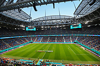 ST PETERSBURG, RUSSIA - JUNE 12 :  illustration image showing the stadium pictured while singing along with the national anthems just before the 16th UEFA Euro 2020 Championship Group B match between Belgium and Russia on June 12, 2021 in St Petersburg, Russia, 12/06/2021 <br /> Photo Photonews / Panoramic / Insidefoto <br /> ITALY ONLY