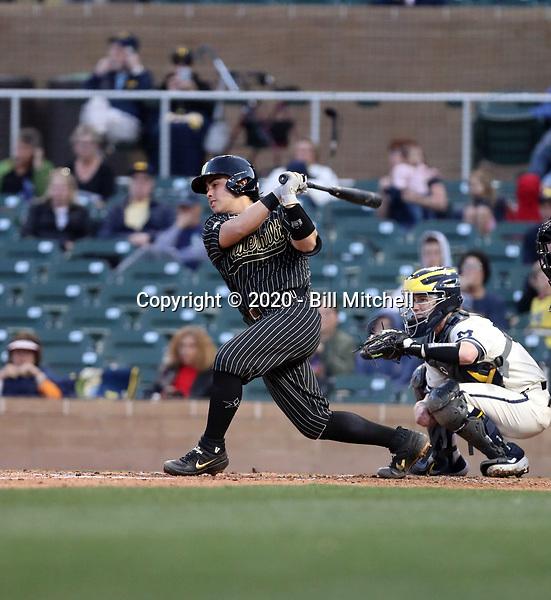 CJ Rodriguez - 2020 Vanderbilt Commodores (Bill Mitchell)