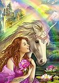 Nadia, MODERN, MODERNO, paintings+++++,RUNS21,#N#, EVERYDAY puzzle,puzzles,unicorn,girl ,fantasy