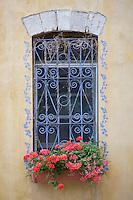Asie/Israël/Galilée/Safed: détail fenètre d'une maison