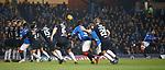 27.02.2019: Rangers v Dundee: Borna Barisic hits the bar