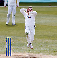 Yorkshire's Dominic Bess bowls during Kent CCC vs Yorkshire CCC, LV Insurance County Championship Group 3 Cricket at The Spitfire Ground on 18th April 2021