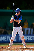David Horn (18) during the WWBA World Championship at Terry Park on October 11, 2020 in Fort Myers, Florida.  David Horn, a resident of Mission Viejo, California who attends JSerra Catholic High School, is committed to UCLA.  (Mike Janes/Four Seam Images)