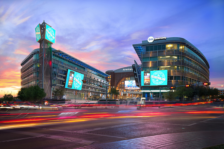 The American Airlines Center (AAC) is a multi-purpose arena, located in the Victory Park neighborhood, near downtown Dallas, Texas. The venue serves as the home to the Dallas Mavericks of the National Basketball Association, and the Dallas Stars of the National Hockey League. The arena is also used for concerts and other live entertainment. It opened in 2001 at a cost of $420 million.