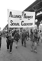 Alliance Against Sexual Coercion at Women Decide March Boston, MA 3.31.79