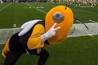 The Georgia Tech Yellow Jacket mascot. The Pitt Panthers defeated the Georgia Tech Yellow Jackets 37-34 at Heinz Field in Pittsburgh, Pennsylvania on October 08, 2016.