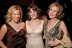 From left: Cara Koza, Libbie Ansell and Joan McLeod at a private party aboard the Fertitta's yacht before the San Luis Salute in Galveston Friday  Feb. 08, 2013.(Dave Rossman/ For the Chronicle)