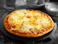 Whole Cheese and Tomato thin crust pizza