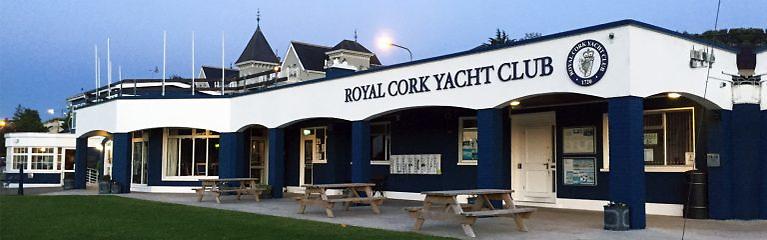 Royal Cork Yacht Club in Crosshaven Photo: Bob Bateman