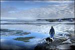 Watching the ice breakup on Joliffe Island