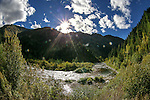 The North Fork of the Clearwater River near Kelly Forks, ID., on Monday, Sept. 12, 2016. <br />Photo by Cathleen Allison