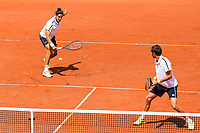 8th June 2021; Roland Garros, Paris France; French Open tennis championships day 10;  Nicolas Mahut ( France ) and Pierre Hugues Herbert ( France ) mens doubles