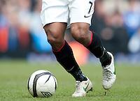 Detail of Antonio Valencia of Manchester United