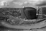 Sullom Voe, BR British petroleum construction site. 1979.
