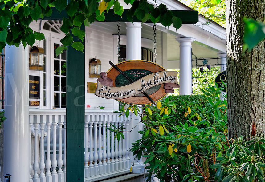 Edgartown Art Gallery, Martha's Vineyard, Massachusetts, USA