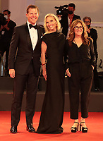 """Venice, Italy - September 10: Molly Sims, Kevin J. Wash and Nicole Holofcener attend the Red Carpet of 20th Century Studios' movie """"The Last Duel"""" during the 78th Venice International Film Festival on September 10, 2021 in Venice, Italy. <br /> CAP/MPI/AF<br /> ©AF/MPI/Capital Pictures"""