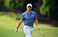 5th September 2021: Atlanta, Georgia, USA; Rory McIlroy walks towards the 12th tee box after completing a putt on the 11th hole during the final round of the PGA Tour Championship on Sunday, September 5, 2021 at East Lake Golf Club in Atlanta, GA.
