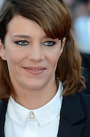 Jury member Celine Sallette attend the 'Elle' Premiere during the 69th annual Cannes Film Festival at the Palais des Festivals on May 21, 2016 in Cannes