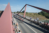 Team BMC pacing the peloton today<br /> <br /> 12th Eneco Tour 2016 (UCI World Tour)<br /> Stage 6: Riemst › Lanaken (185km)
